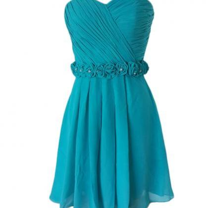 Turquoise Homecoming Dresses,Short ..