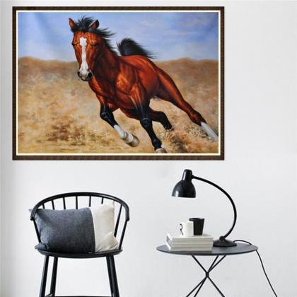 diamond painting horse animal decor..