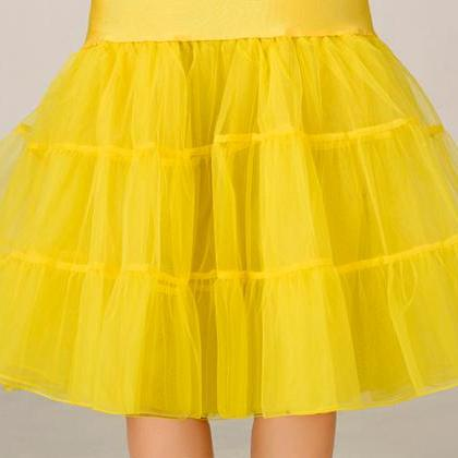 2016 Wedding Petticoat Summer Dress..