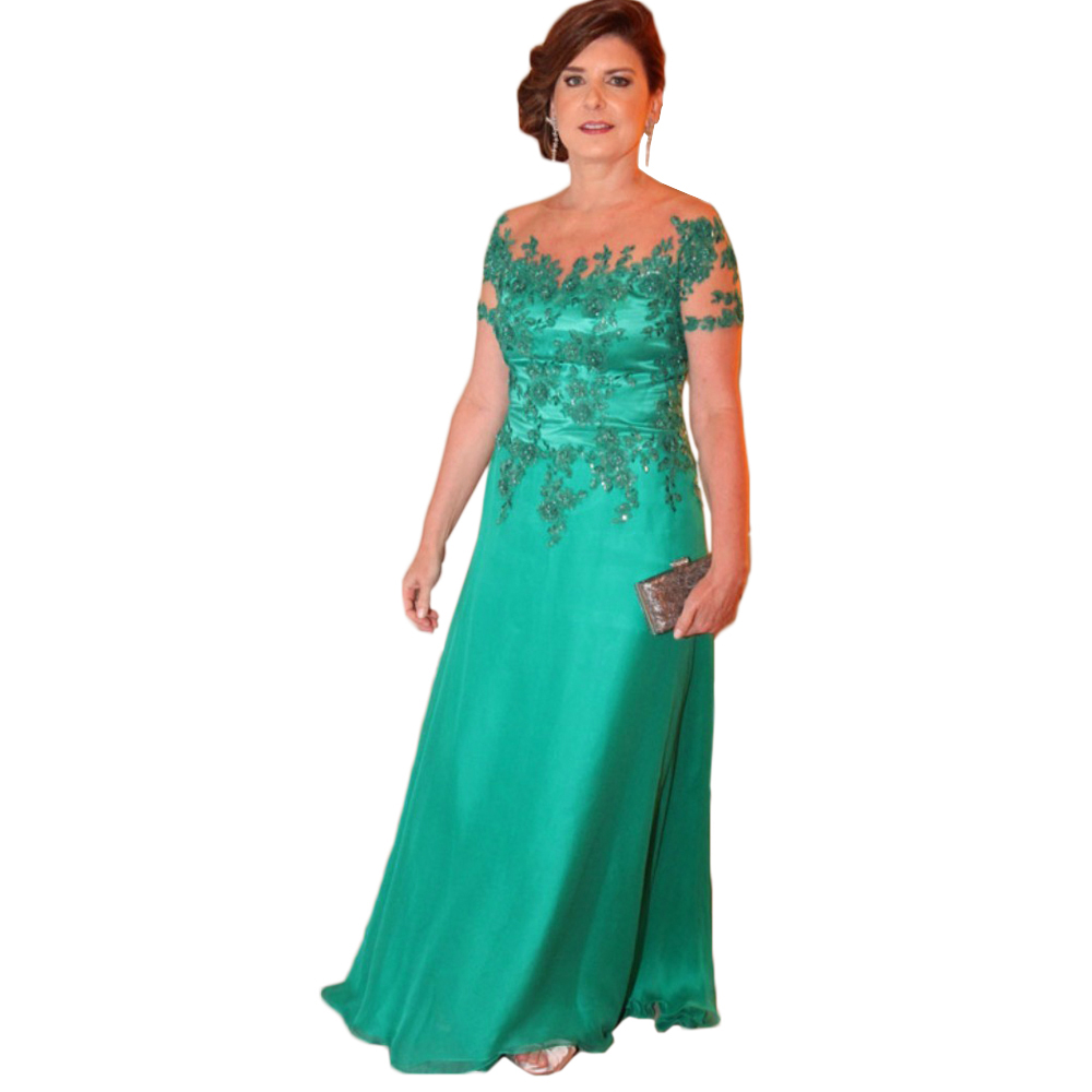 Evening Dress,Long Elegant Evening Dress,Green Evening Dresses,A ...