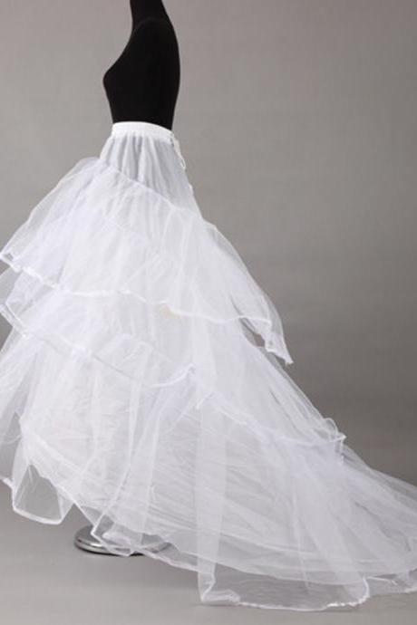 Petticoat For Wedding Dress With Chapel Train Crinoline Bridal Underskirt Wedding Accessories