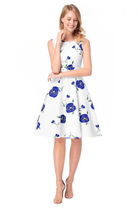 fashion sexy short floral printed women dresses