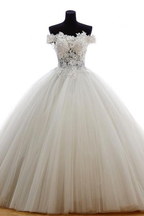 White Quinceanera Dress 2019 Tulle Ball Gowns Vestidos De 15 Debutante Gowns Prom Dresses Princess Gowns