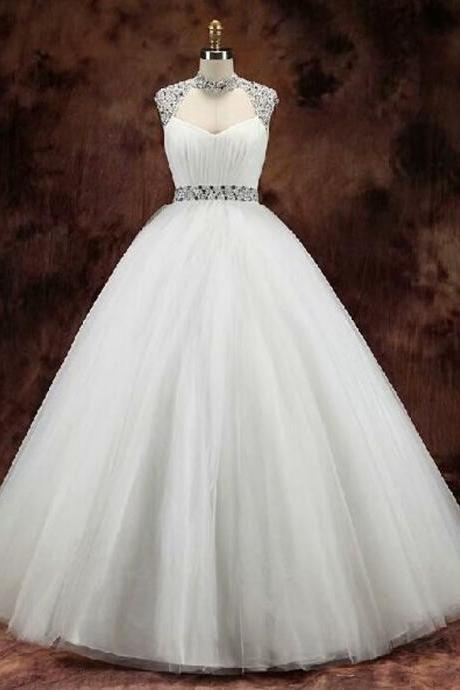 White Wedding Dress, Strapless Wedding Dress, 2019 Wedding Dresses, Cheap Wedding Dress, Chapel Train Wedding Dress, Satin Wedding Dress, Real Photo Wedding Dress, Gorgeous Wedding Dress