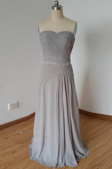 2016 Chiffon prom dresses,gray prom dresses,strapless evening dresses, evening dresses 2016,long prom dresses,dresses party evening,sexy evening gowns,formal dresses evening,celebrity red carpet dresses