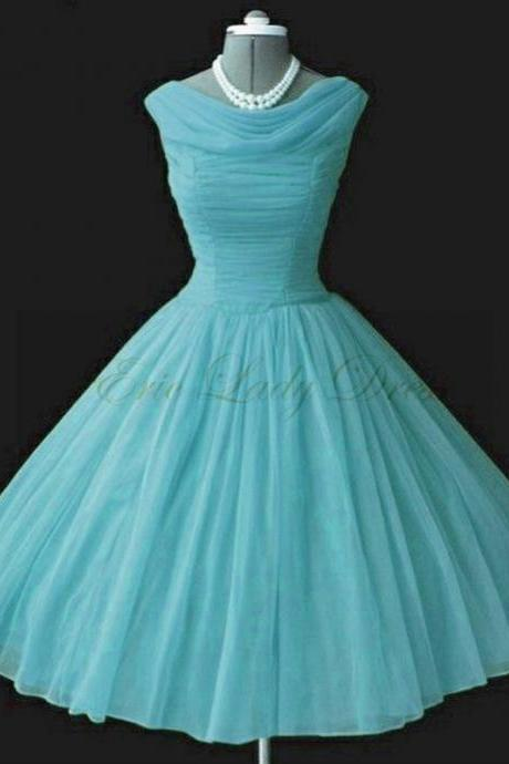 Light Blue Short Prom Dress, Short Prom Dresses,2016 Prom Dresses,Vintage Prom Dresses, Party Dresses, Homecoming Dresses