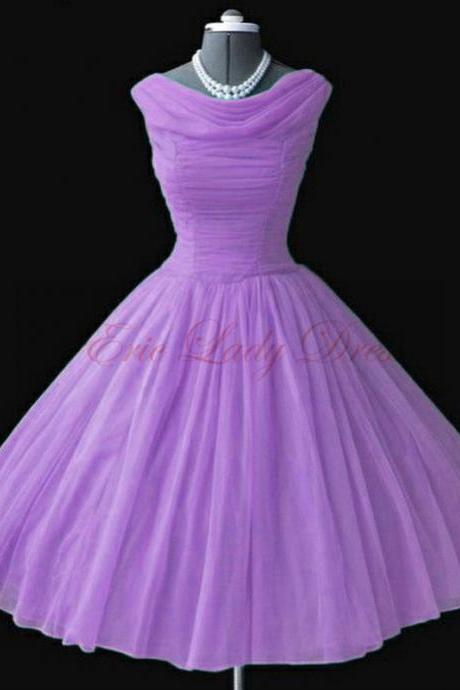 Short Prom Dress,Purple Prom Dresses, Short Prom Dresses,2016 Prom Dresses,Vintage Prom Dresses, Party Dresses, Homecoming Dresses