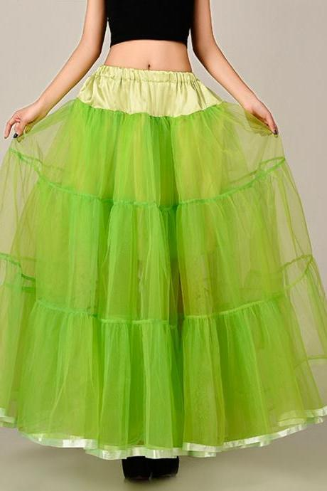 Beautiful Long Skirt, tutu skirts,petticoat