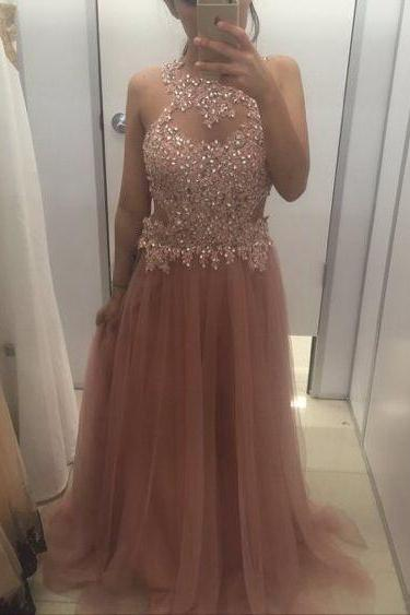 flesh pink prom dresses,backless prom dresses,long elegant prom dresses,tulle prom dresses,sexy prom dresses,Dresses For Prom , sexy prom dresses,dresses party evening,sexy evening gowns,formal dresses evening,elegant long evening dresses