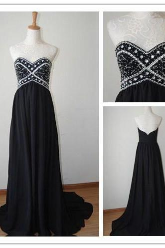 Prom Dress,Sexy Prom Dress,A Line Prom dresses,Black Prom Dresses,Custom Made Prom Dress,Chiffon Prom Dresses, Sexy Prom Dress, Long Prom Dresses,2016 Prom Dresses,Prom Dresses
