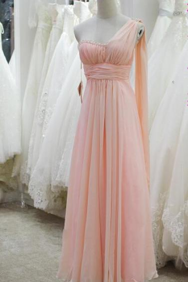 Prom Dress,Light Green Prom Dress,A Line Prom dresses,Pink Prom Dresses,Custom Made Prom Dress,Chiffon Prom Dresses, Sexy Prom Dress, Long Prom Dresses,2016 Prom Dresses,Prom Dresses