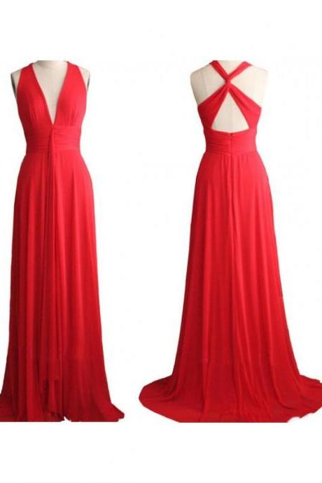 Prom Dress,Red Prom Dress,Sexy Backless Prom dresses,Sexy Evening Gowns,Party Dress,Custom Made Prom Dress,Long Prom Dresses,2016 Prom Dresses,Prom Dresses