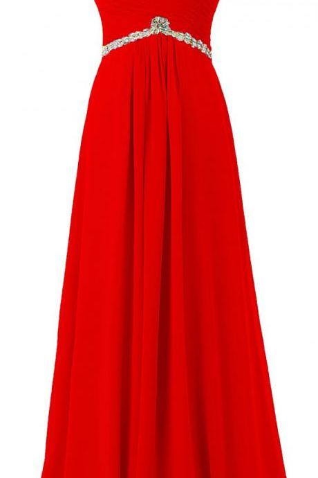 Red Prom Dresses,New Arrival Sheer Neck Illusion Neck Prom Gowns,Sexy Backless Chiffon Prom dresses,Custom Made Prom Dress,Long Elegant Prom Dresses,2016 Prom Dresses,Prom Dresses