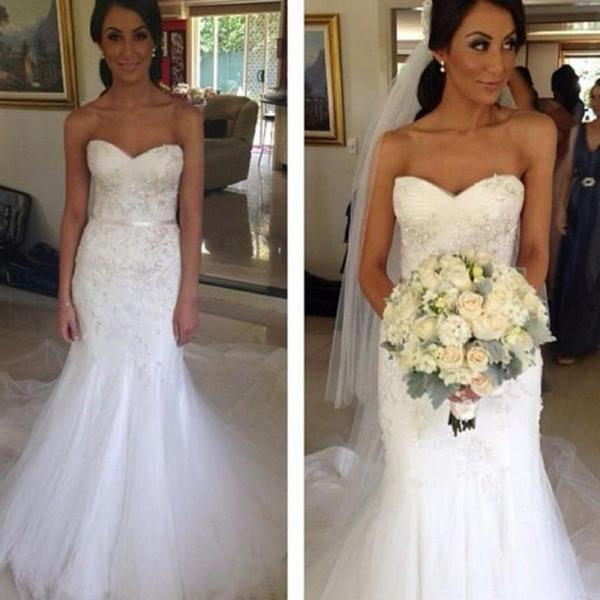 Fishtail Wedding Gowns: 2 Piece Wedding Dresses,Wedding Dress,2016 Wedding Dresses